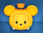かぼちゃミッキー顔