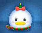クリスマスデイジー顔