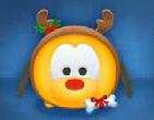 クリスマスプルート顔