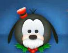 クリスマスグーフィー顔