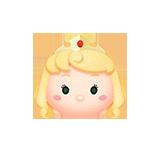 オーロラ姫顔