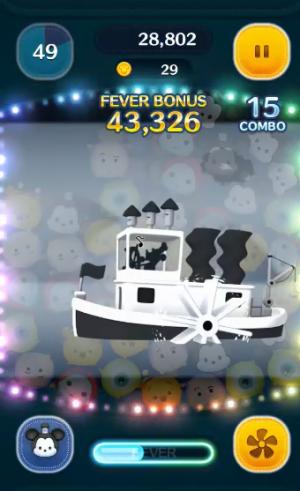 蒸気船ミッキースキル1